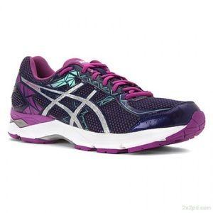 ASICS   GEL-Exalt 3 Running Shoes Purple 7.5 T666N
